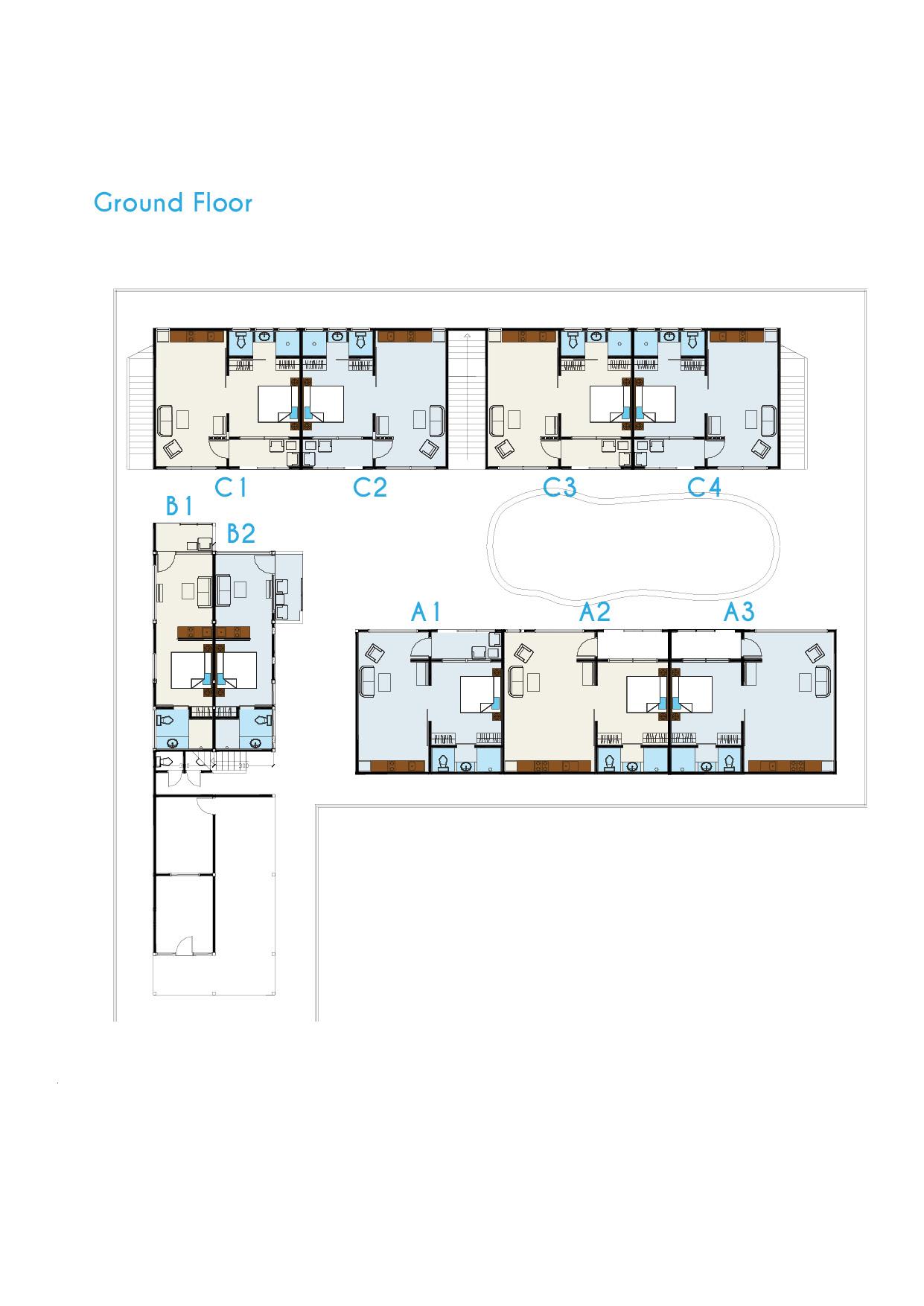 Hotel Floor Plan Coast Boutique Apartments